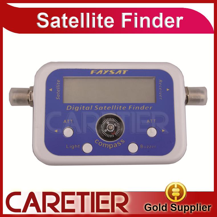 Digital Satelliter Signal Finder SF95/SF06 Meter Compass DirecTV Dish FTA LNB Satellite finder localizador por satellite(China (Mainland))