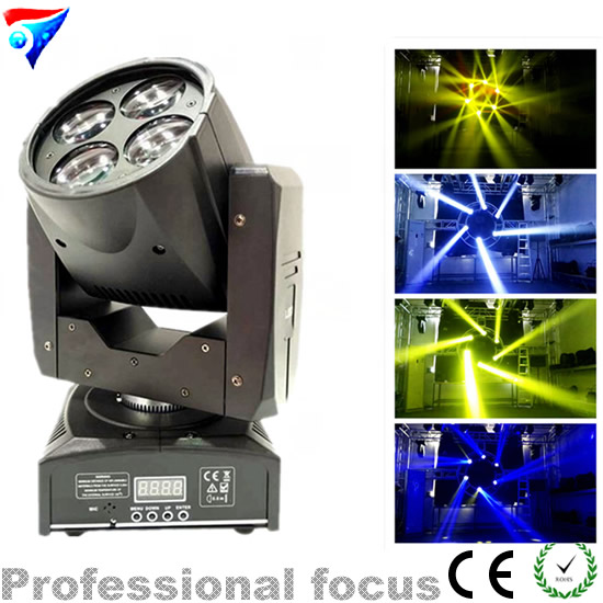 Free shipping 2015NEWEST 4-in-1 4x15w led mini beam wash moving head zoom light<br><br>Aliexpress