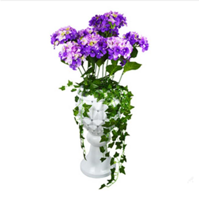 Buy hydrangea wedding bouquet 2015 new for Artificial flowers for wedding decoration