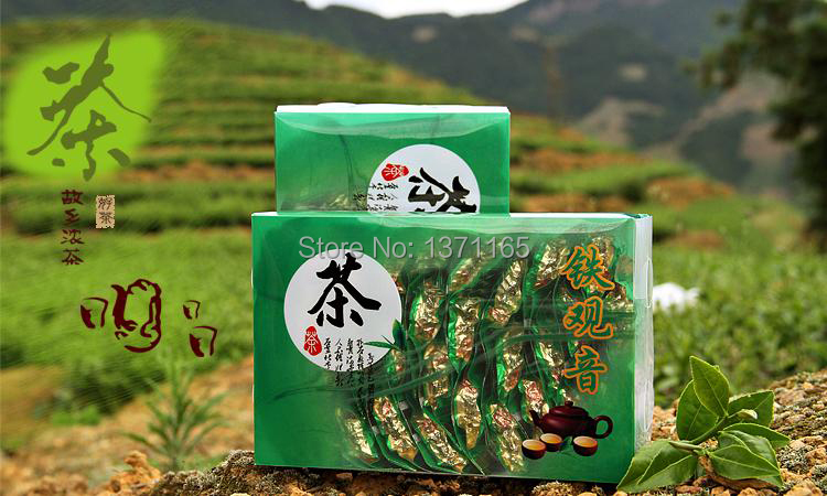 2014 new tea 250g promotion chinese special grade health gift anxi tie guan yin oolong tieguanyin tea 100 original perfumes(China (Mainland))