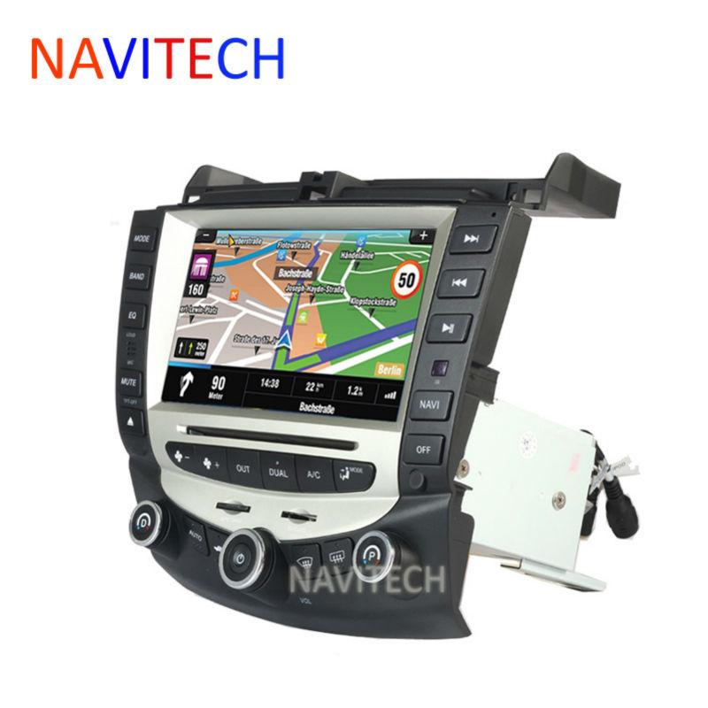 car dvd player gps navigation for honda accord 7 2003-2007 EURO car Stereo Radio dual / Single Zone Climate Control(China (Mainland))