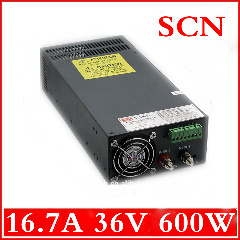 600W 16.7A 36V  Single Output Switching power supply AC to DC 110V or 220V<br><br>Aliexpress