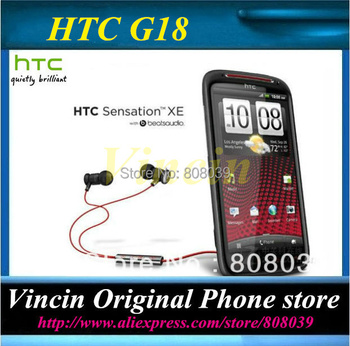 Unlocked Original HTC G18 Refurbished Cell phone Sensation XE Z715e Beats Audio Android 4.0 OS 8MP GPS WiFi 4.3 Inch