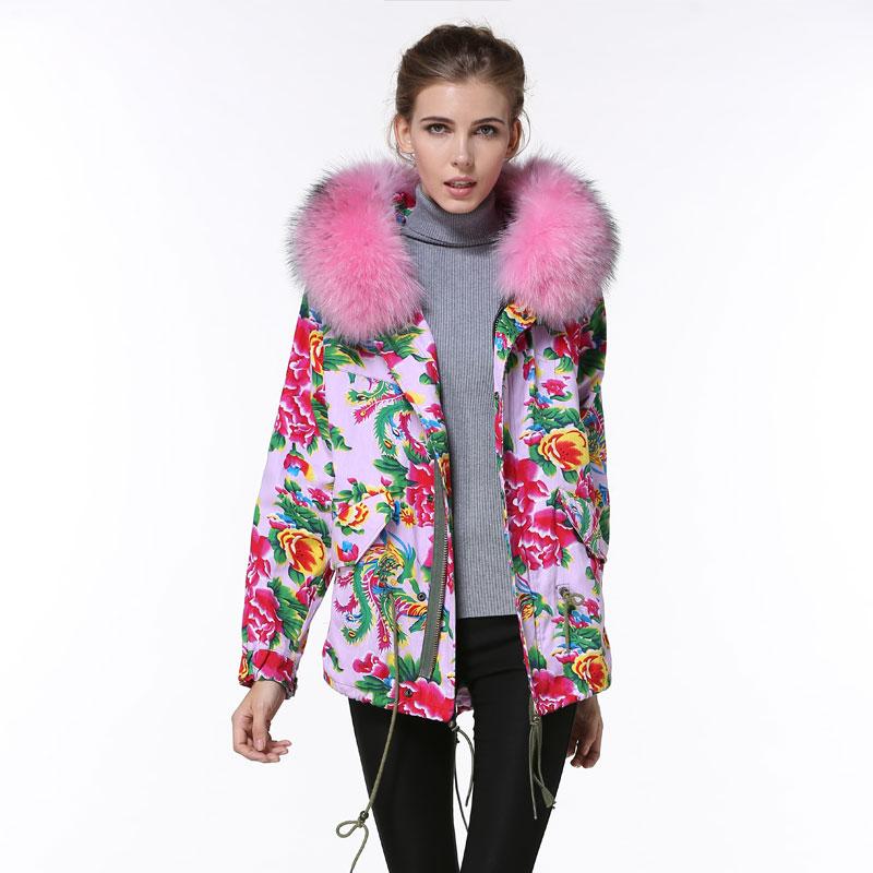 Spring Pink Jacket with Fur Promotion-Shop for Promotional Spring ...