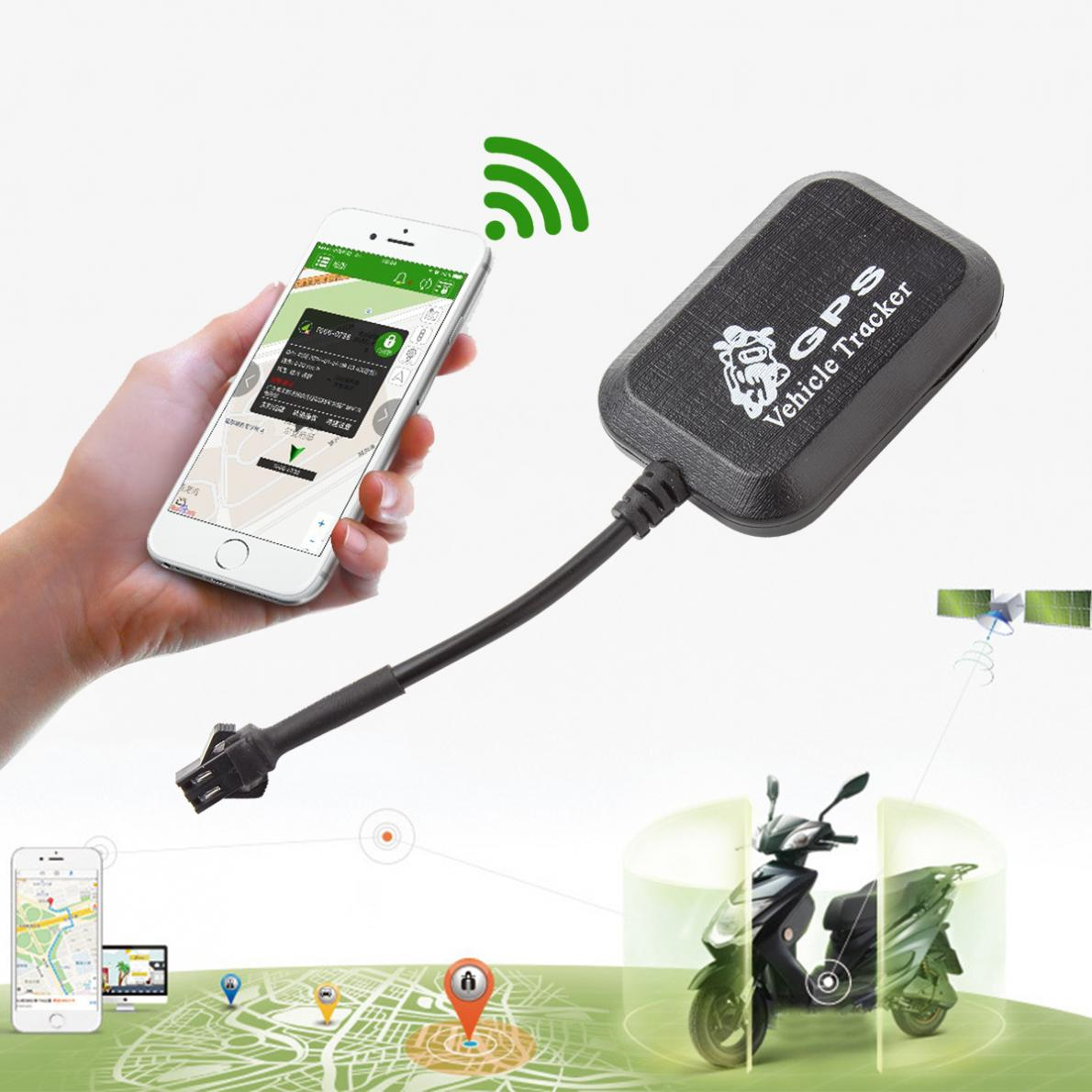 NEW Mini GSM / GPRS GPS Anti-theft SMS Real Time Tracking Tracker For Car Vehicle Motorcycle(China (Mainland))