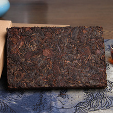 Pu er tea cooked brick date 2002 Chen Xiang premium tea leaves