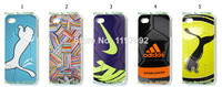 2014 HOT new Football design 1pcs/lot wholesale Personality skulls hard white case cover for iphone5 5s + free shipping