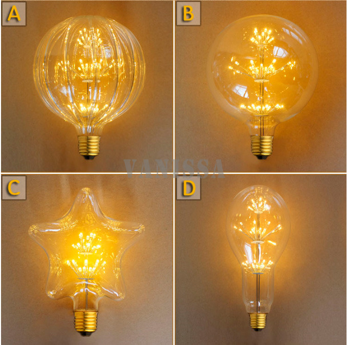 New Arrival Bombillas Led E27 Edison Bulb G150 A110 2w Ac 220v 110v Led Bulb Cafe Decoration Babysbreath Warm White(China (Mainland))
