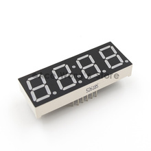 "Free shipping (5Pcs/lot) Wholesale 0.56"" inch 4 Digits 7 Seven Segment Clock Red LED Numeric Digital Display,Common Anode(China (Mainland))"