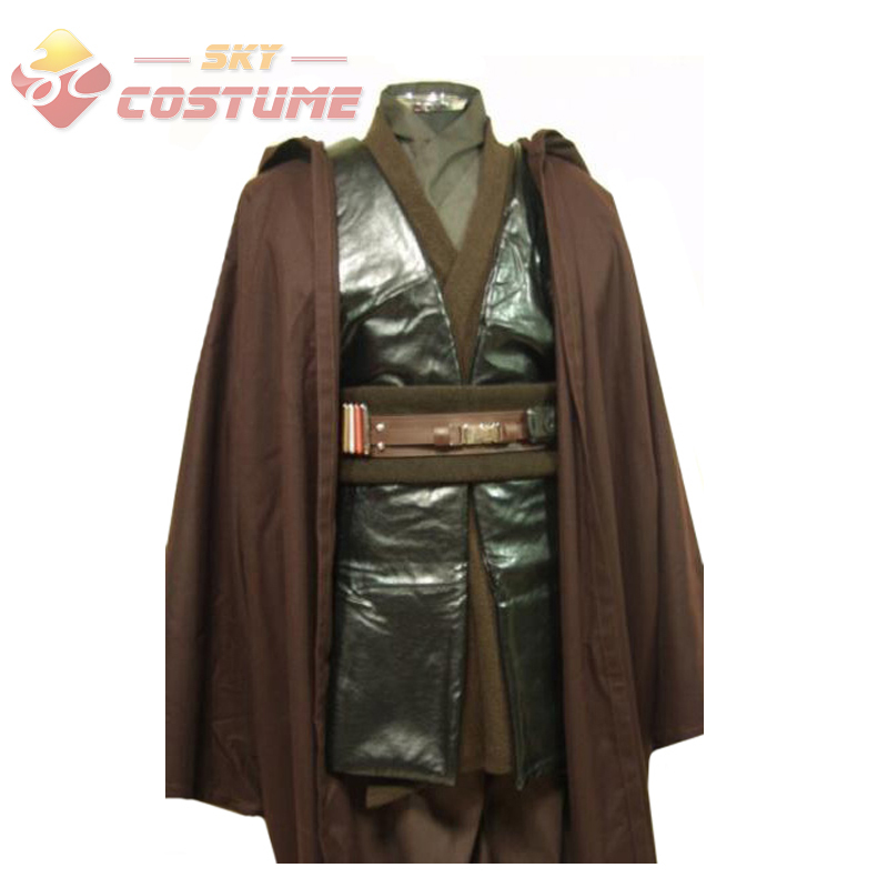 star wars jedi anakin skywalker sith darth vader cosplay costume robe cloak suit in clothing. Black Bedroom Furniture Sets. Home Design Ideas