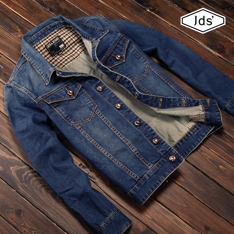New 2014 Coats &amp; Jackets Men  Denim Jacket Male Slim Motorcycle Jeans Short Jackets Size: S/M/L/Xl/Xxl Free Shipping A032Одежда и ак�е��уары<br><br><br>Aliexpress