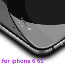 new Full cover Tempered Glass for iPhone 6 6s 4.7″ high quality Anti-Explosion Screen Protector film Soft edge + anti broken