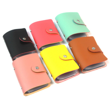 2015 new1pcs Men's Leather Credit Card Holder/Case card holder wallet Business Card Package PU Leather Bag(China (Mainland))