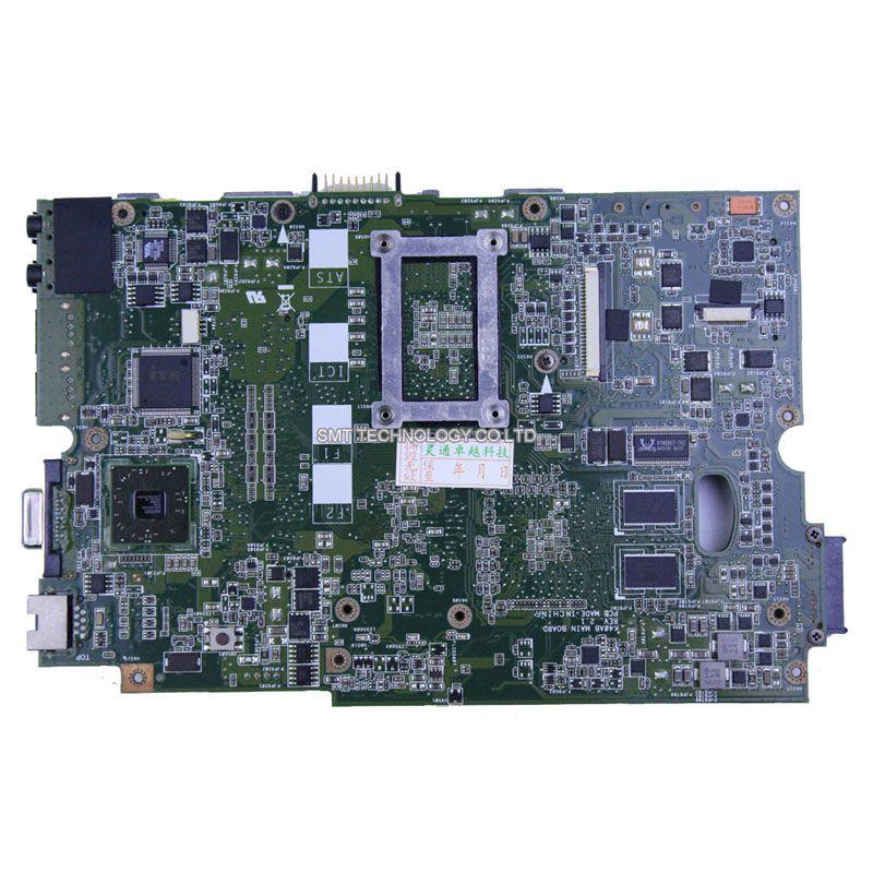 For ASUS K40AF K40AD X8AAF laptop motherboard K40AB REV 2.1 2009 cpu 100% Original tested good !(China (Mainland))