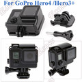 For GoPro Waterproof Case Blackout Box GoPro Hero4 Hero3 35M UnderWater Protective Housing For GoPro Accessories