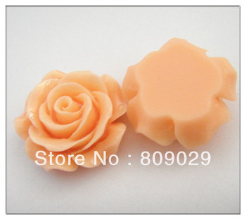 Mini  300 pcs/lot  15 mm Resin Rose DIY Decoration For Mobilephone and Jewelry Resin Flower DIY