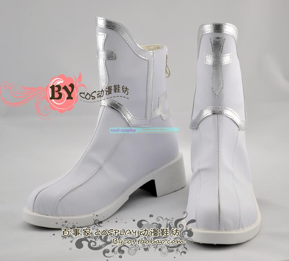 Sword Art Online Asuna Yuuki cosplay costume Boots Shoes New