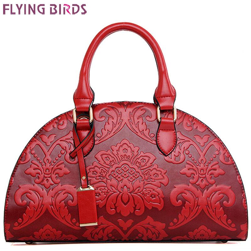 FLYING BIRDS! Free shipping elegant women leather handbags shoulder messenger bag in shoulder lady bags free shipping LS5519<br><br>Aliexpress