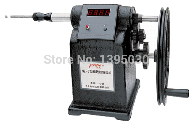 Free shipping by DHL 2pcs new Manual Hand Coil Counting Winding Winder Machine for thick wire 2.5mm(China (Mainland))