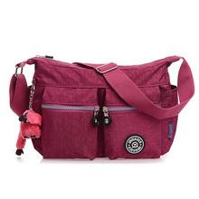 1 шт. лето стиль женщин сумки сумки для женщин оптово-водонепроницаемый нейлон 10 цветов сумка дамы кроссбоди сумки bolsa santa fe