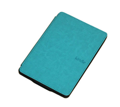 8 color Leather book cover case for Amazon Kindle 4 Kindle 5 with folio slim cover