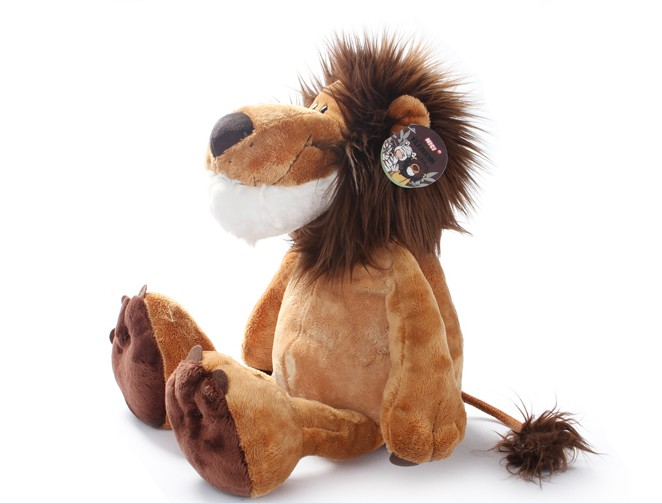 "2016 Popular NICI Lion Stuffed Doll Plush Jungle Series Animal TOYS 25CM OR 10"" Good Gift(China (Mainland))"