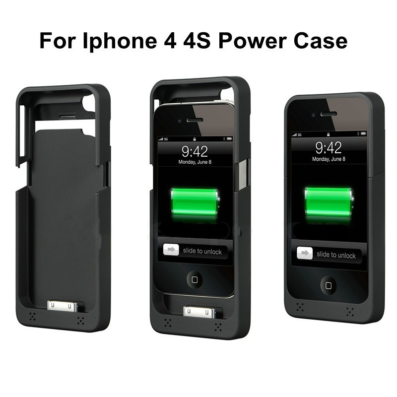 1900mah external battery charger for iphone 4 4s portable for Iphone x portable charger