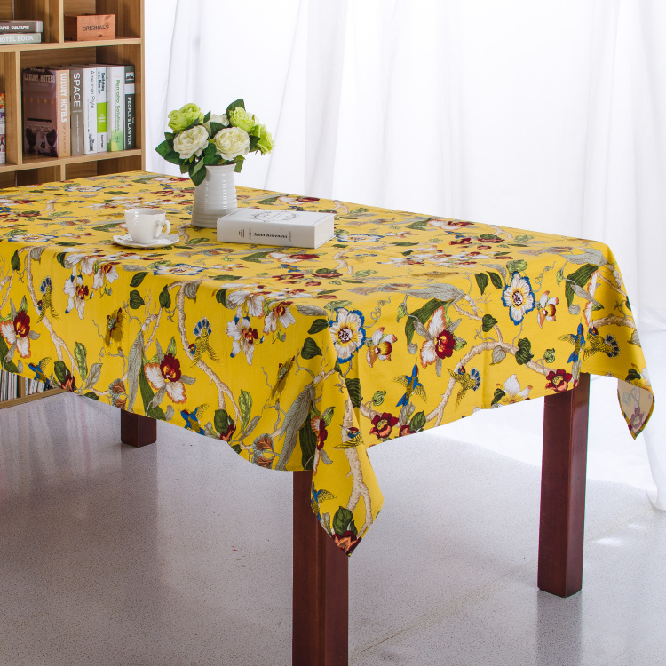 100% Cotton Table Cloth Flora&Bird High Quality Tablecloth Table Cover manteles para mesa Free Shipping(China (Mainland))