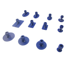 Free Shipping 12pcs tabs Dent Puller Hand Tool Set Auto Body Repair Removal Repair Tool Paintless Kits Glue Puller Sets Tabs(China (Mainland))