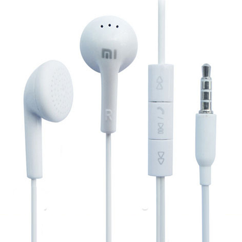 2016 New Hot Sales Best Quality Mi Earphone Headphone Headset for iphone Samsung Mini Ipad PSP MP3 MP4 With Remote And MIC(China (Mainland))