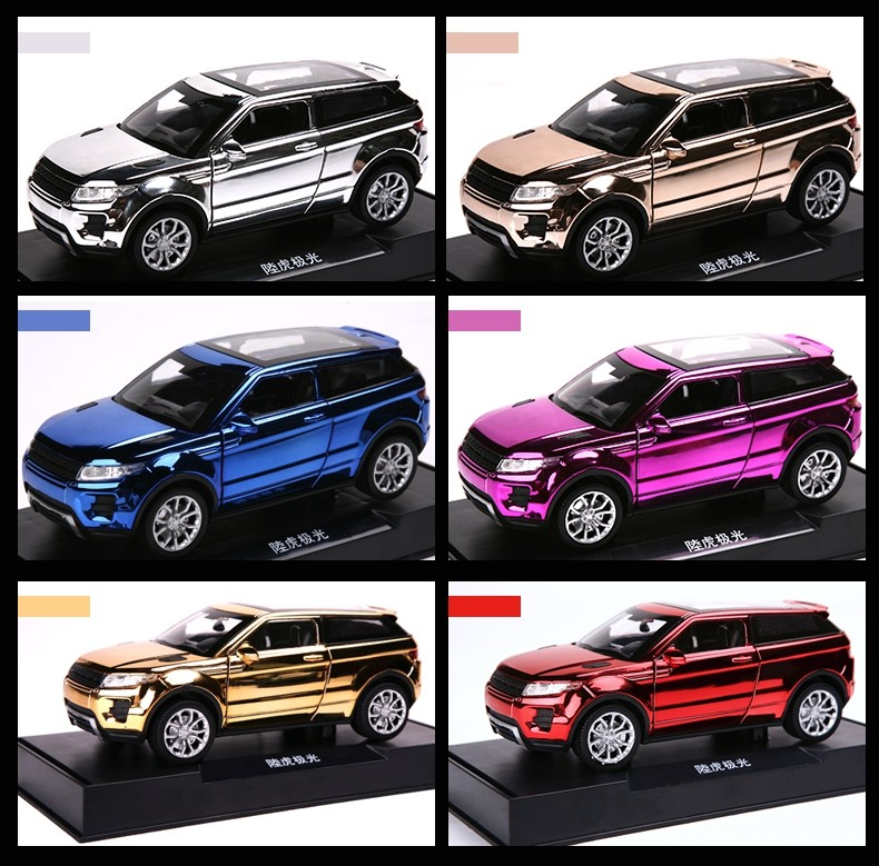 2015 new plating pull back car mini alloy diecast model car toy 1/32 scale Light&Sound toy car gift for kids hot  free shipping