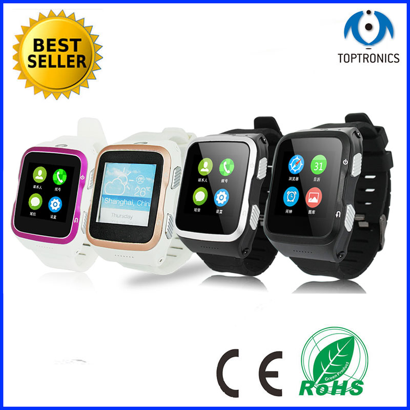 3g watch Android watch Smart android watch phone with sim card and camera support wifi Pedometer GPS facebook Twitter Skype(China (Mainland))