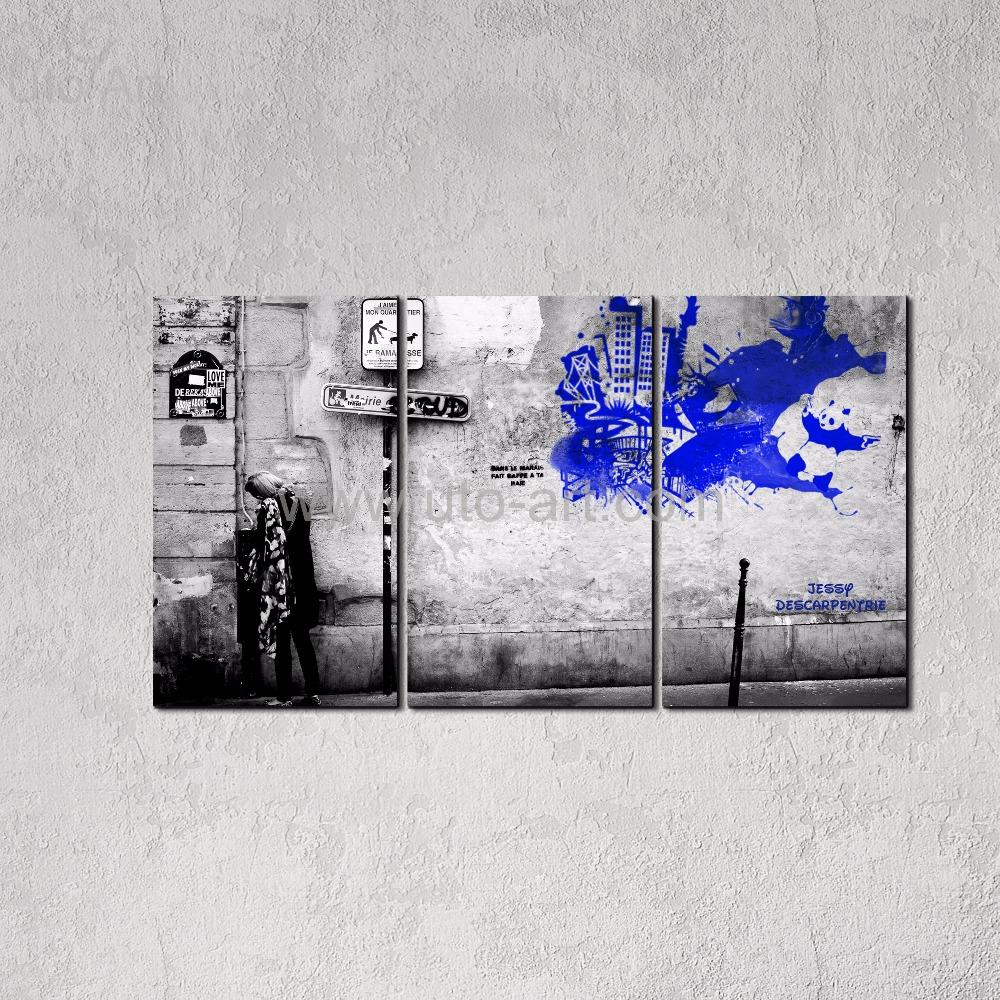 Graffiti banksy promotion achetez des graffiti banksy promotionnels sur aliex - Nouveau peinture maison ...