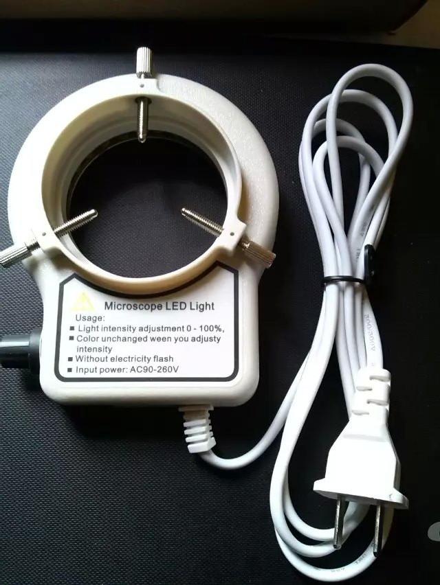 6 large inner diameter D adjustable light microscope ring source<br><br>Aliexpress