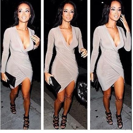 Long sleeve club dresses - Fashion dresses