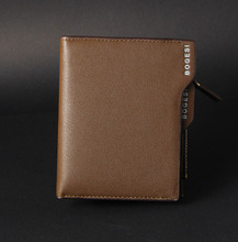 Men Wallet 2014 New Genuine Leather Brand Wallets credit Mix Color Card holder Coin Purse Pockets