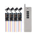 Wireless Remote Control Switch 433mhz 3 7v 5v 6v 9v 12v Micro Receiver Switch Long Transmitter
