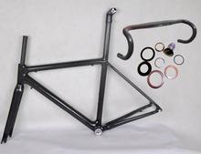 carbon road bike frame 48/51/54cm,carbon handlebar road bike china,700c wheels road bike 3k weave glossy,chinese road bike frame(China (Mainland))