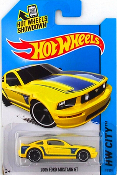 Hot Wheels Ford series 2005 FORD MUSTANG GT ,alloy car toys,whole sale Muscle Car.(China (Mainland))