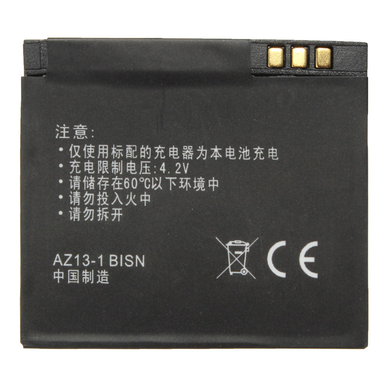 Black  3.7V 1010mAh Li-ion Rechargable Backup Battery For Xiaoyi for Xiaomi Yi Sports Action Camera Accessories