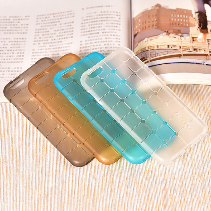 New arrival For Rubiks Cube Soft Anti-Skid Squares TPU case For iphone 7 7 plus 6s 6 plus 4G 4s 5G 5s 5c Phone back Cover(China (Mainland))