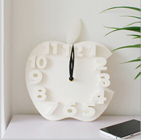 Free shipping Creative Apples Wall Clock Watch Color Cartoon Creative Fashion Creative Clock Wall Clock Wholesale Manufacturers(China (Mainland))