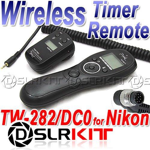 Фотография Wireless Timer Remote for Nikon D4 D3X D3s D2Xs Fuji S3 S5 Pro D800 D700 D300S D300 D200 D3