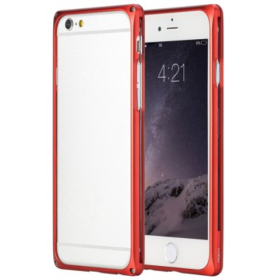 product Red Rock Ultra-thin Metal Bumpe for iPhone 6 Plus iPhone6 i6 Plus / Aviation Aluminum Alloy Combo Frame Design Bumper