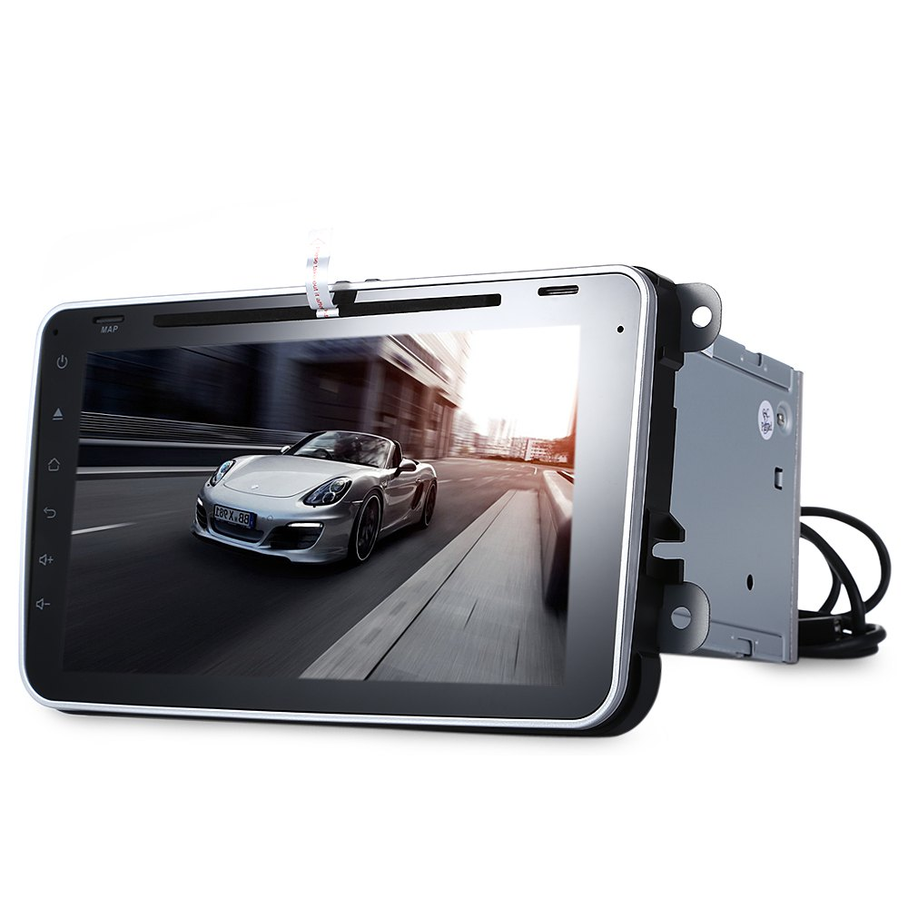 8 Inch Car DVD Player Android 4.4.4 Automotivo Vehicle Stereo Universal Double Din GPS Navigation WiFi Dongle 3G Dongle In-dash(China (Mainland))