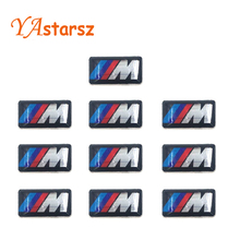 Buy Car styling 10PCS Tec Sport Wheel Badge 3D M Emblem Sticker Wheel Decal Fit BMW X1 X2 X3 M1 M3 M5 M6 (0.71*0.39inch) for $2.30 in AliExpress store