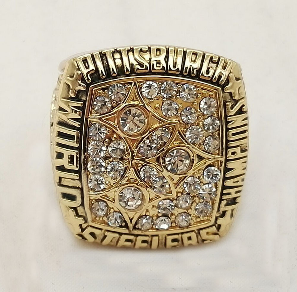 Factory Direct Sale Good Quality Factory price 1978 Super Bowl Pittsburgh Steelers championship ring(China (Mainland))