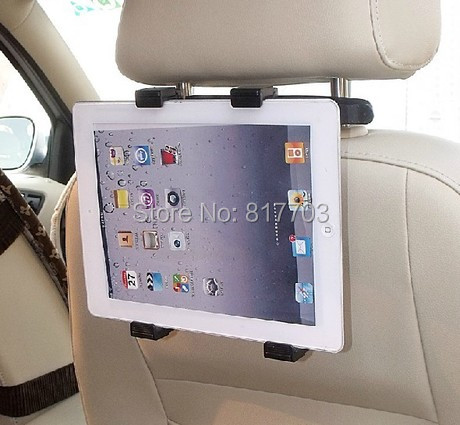 Universal Car Vehicle Seat Back Headrest Rotatable Mount Holder For IPAD/ all tablet stand pc /GPS/ TV/ DVD(China (Mainland))