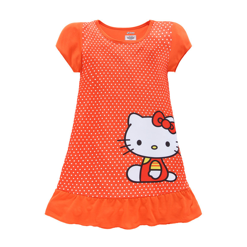 Dot dresses baby kids girl clothes princess dress children clothes