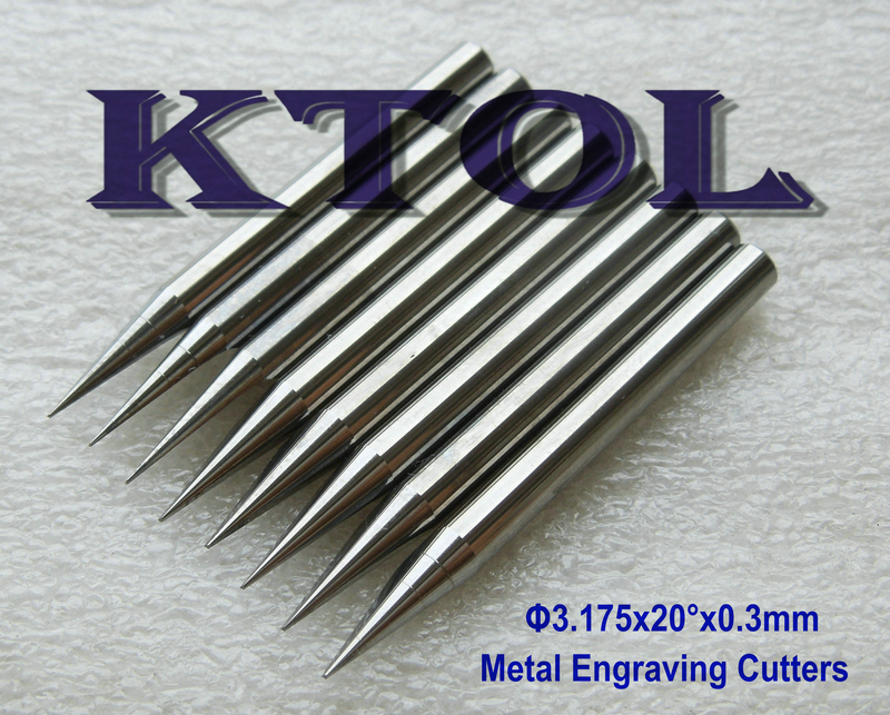 FREE Shipping 20 Angle 0.3mm End Mill 3.175mm Carbide Engraving Bits Set for Metal Carving Cutting,10pcs CNC Router Tools Metal(China (Mainland))